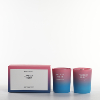 As Simple As Color Collection Arabian Night 70g*2 Scented Candle Set