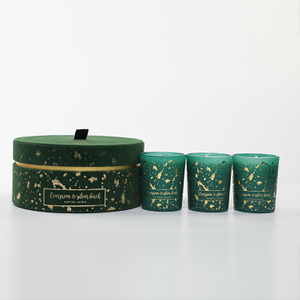 Velvet Collection Evergreen Silver Birch 70g*3 Scented Candle