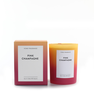 As Simple As Color Collection Pink Champagne 250g Candle Scented